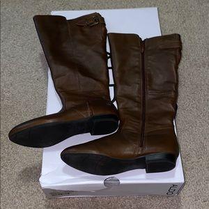 Aldo Becki-W at knee brown boots
